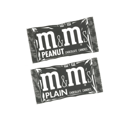 1950's M&M'S Plain and Peanut